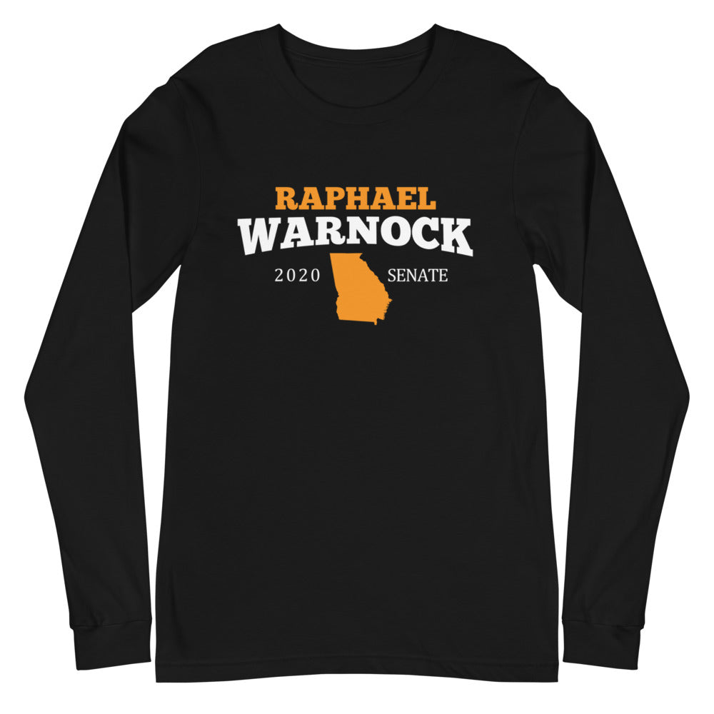 Raphael Warnock 2020 for Georgia long sleeve shirt
