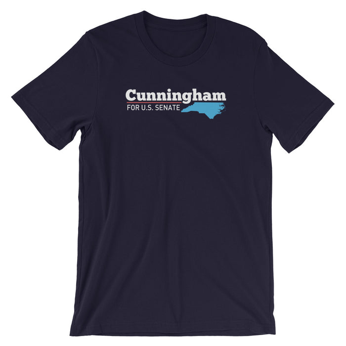 Cal Cunningham 2020 North Carolina Senator T-Shirt