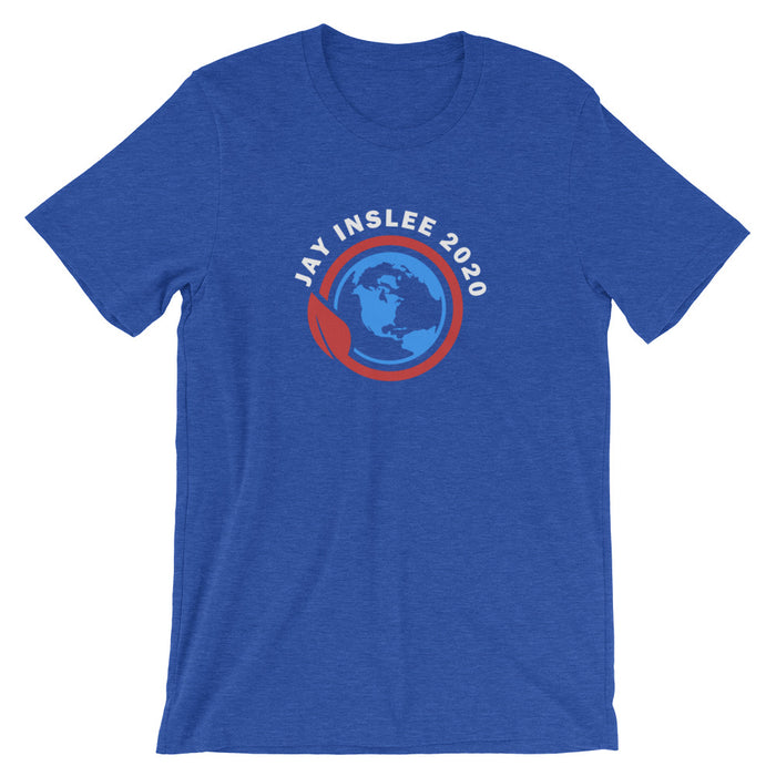 Jay Inslee 2020 t-shirt - royal blue