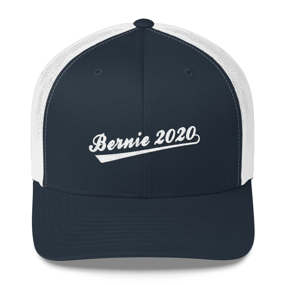 Bernie Sanders 2020 trucker hat - white and navy