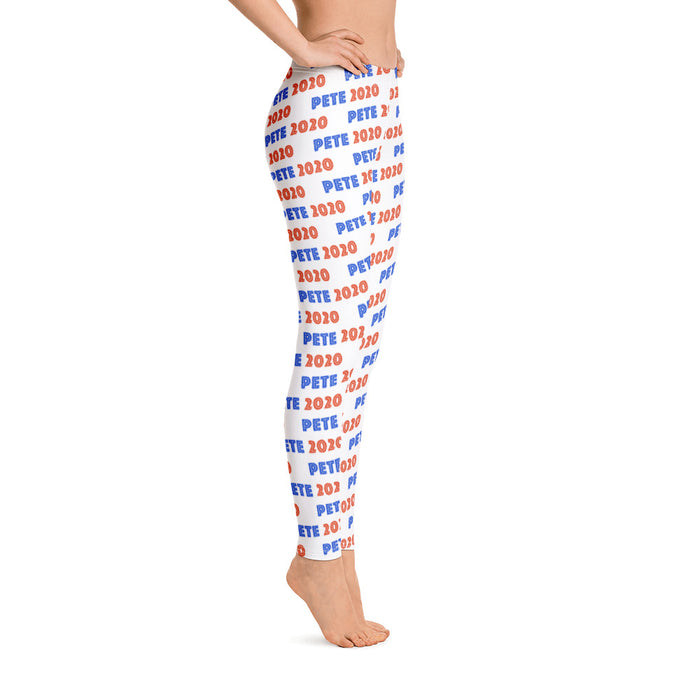 Pete Buttigieg 2020 leggings  - side view