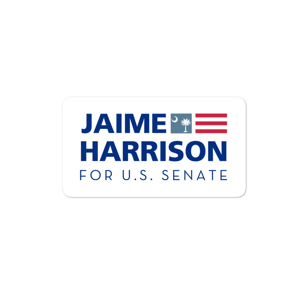 Jaime Harrison for Senate 2020 sticker
