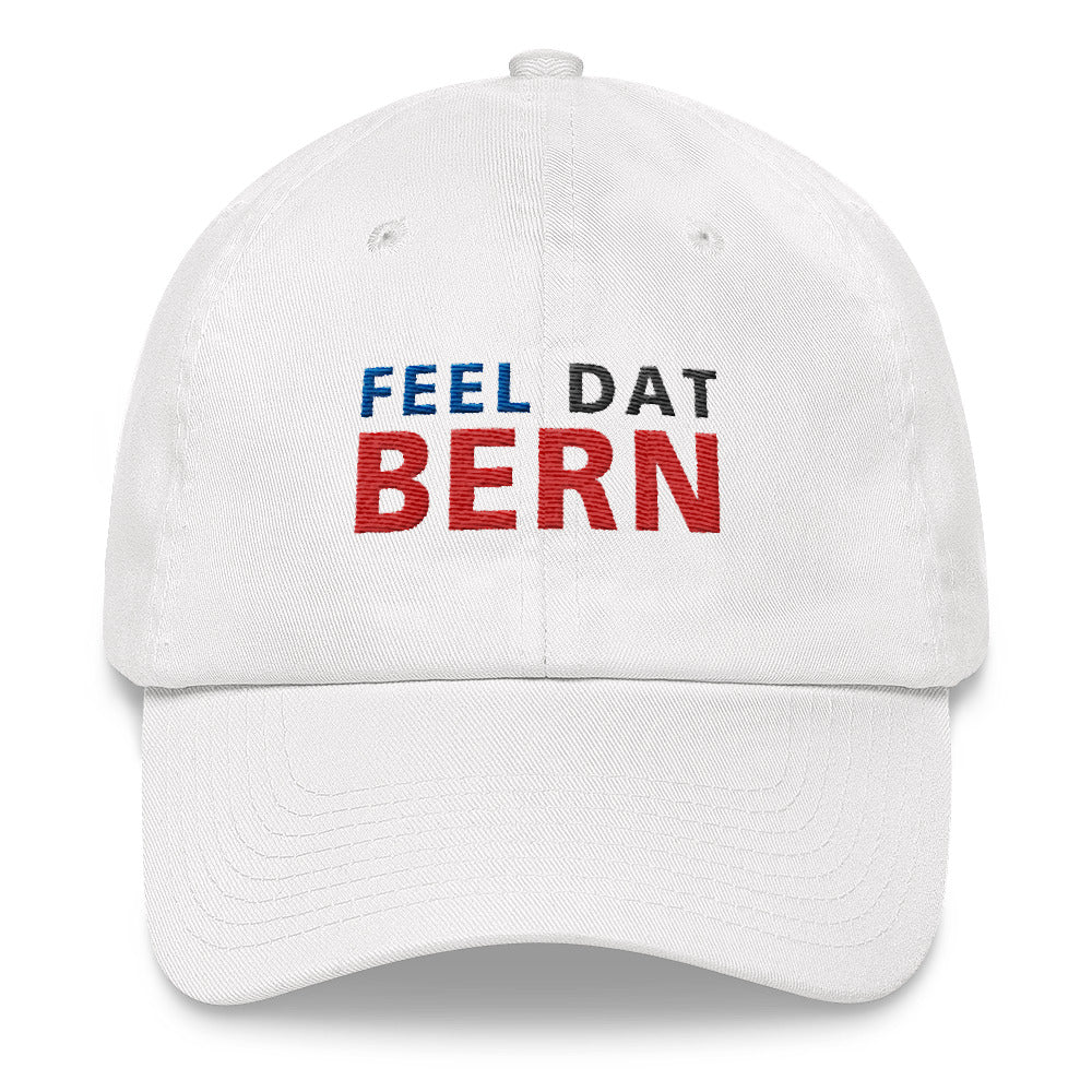 Bernie Sanders 2020 feel the bern hat - white