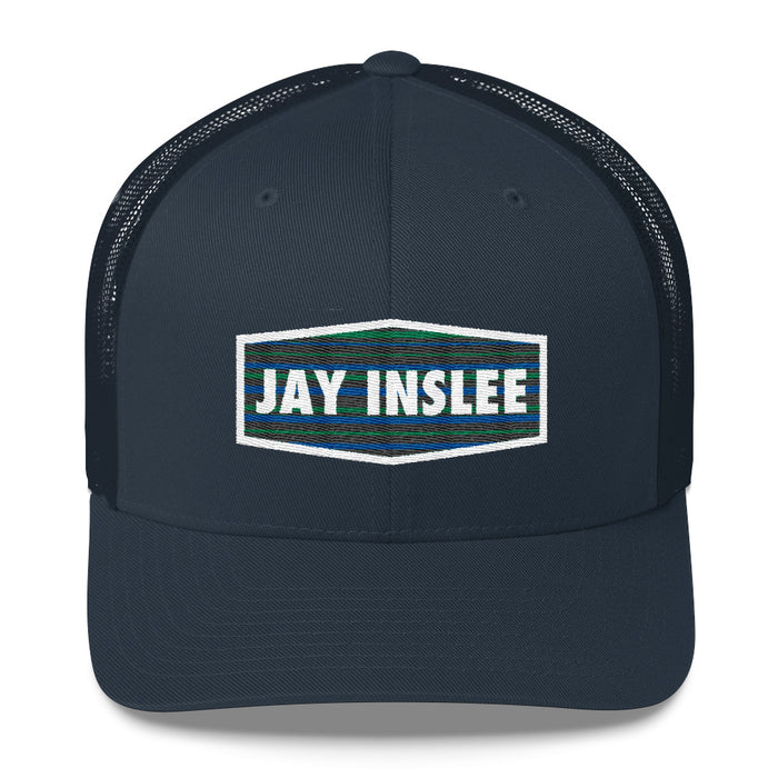 Jay Inslee 2020 trucker hat - navy