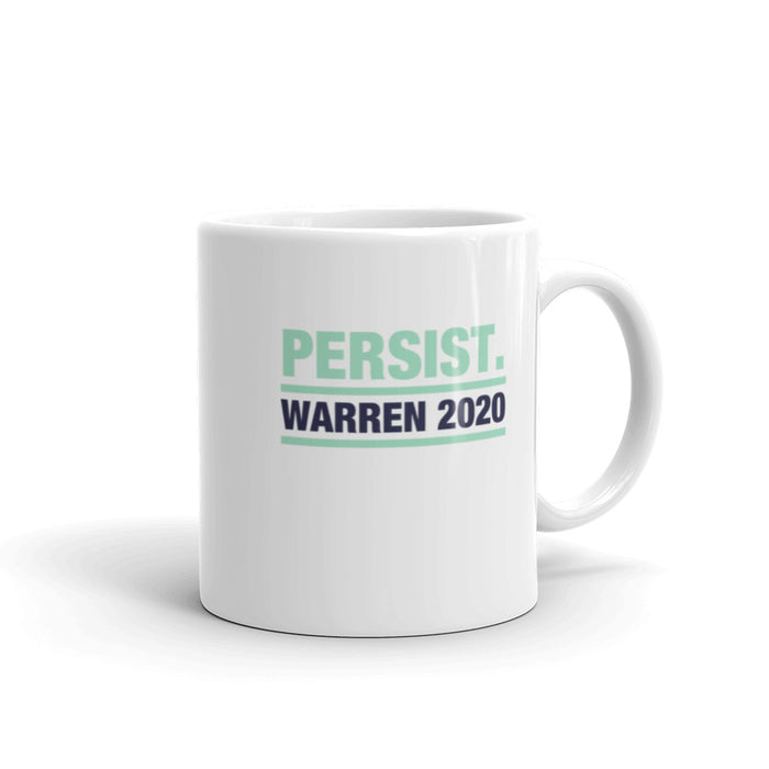 Elizabeth Warren 2020 Persist coffee cup