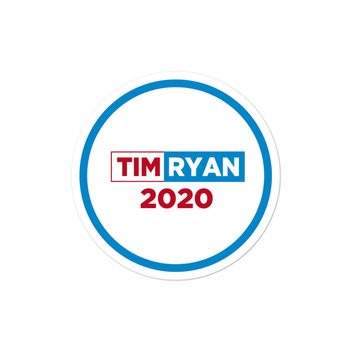 Tim Ryan 2020 sticker