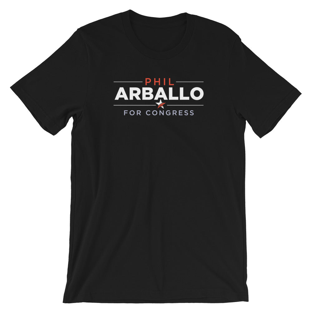 Phil Arballo CA-22 congress t-shirt