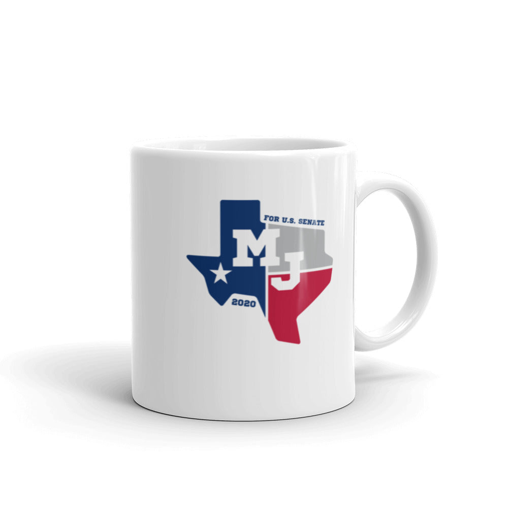 MJ Hegar for Senate coffee mug