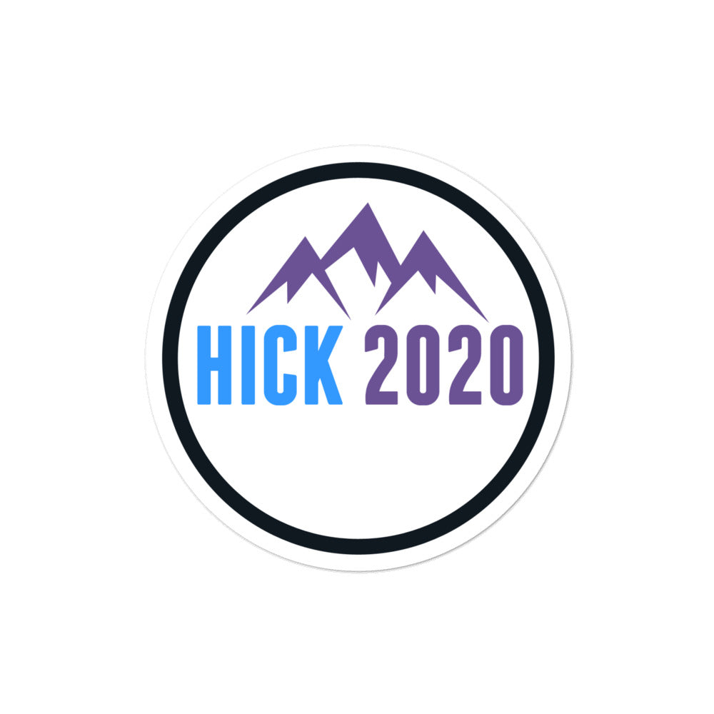 John Hickenlooper Senate 2020 sticker