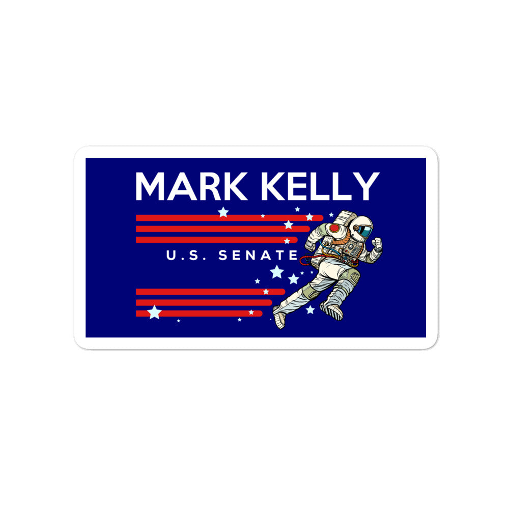 Mark Kelly 2020 astronaut sticker