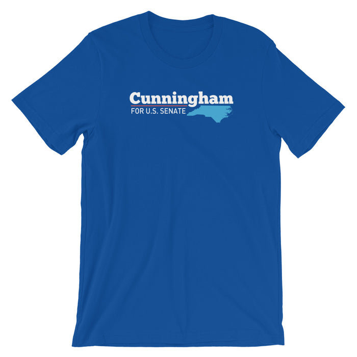 Cal Cunningham for Senate North Carolina 2020 t-shirt