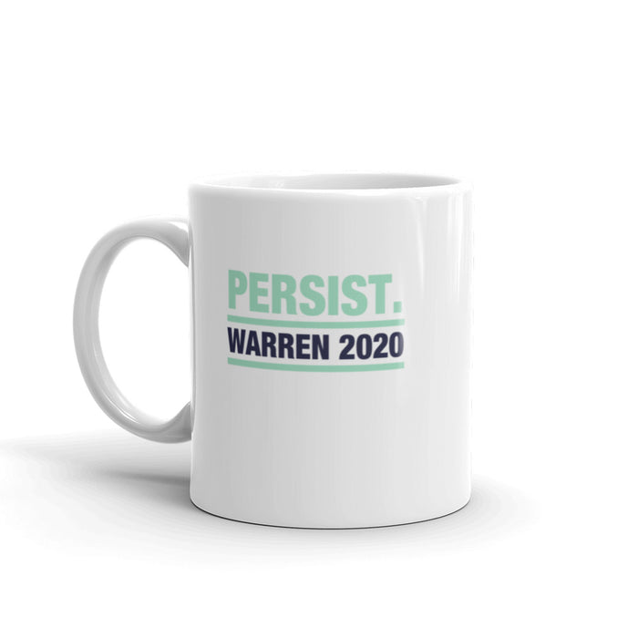 Elizabeth Warren 2020 Persist coffee mug