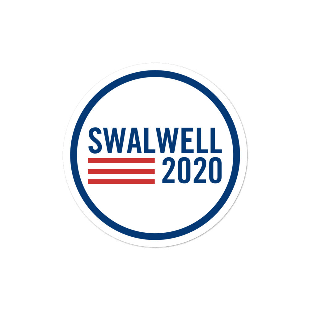 Eric Swalwell 2020 sticker