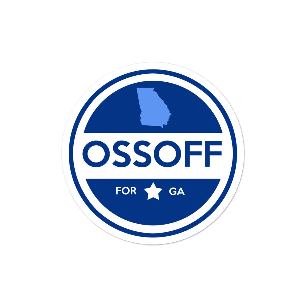 Jon Ossoff U.S. Senate 2020 election sticker