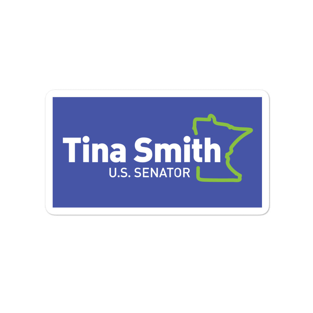Tina Smith U.S. Senator 2020 sticker