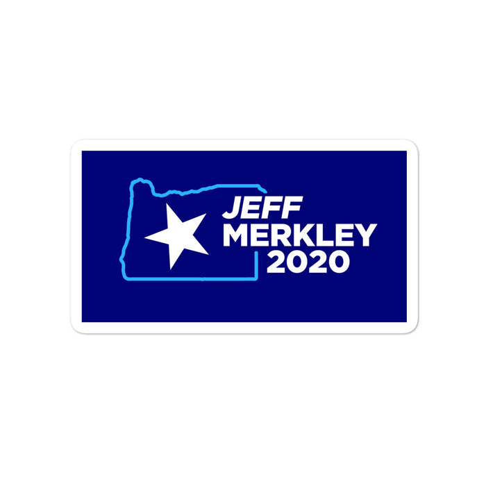 Jeff Merkley 2020 for Senate Oregon sticker