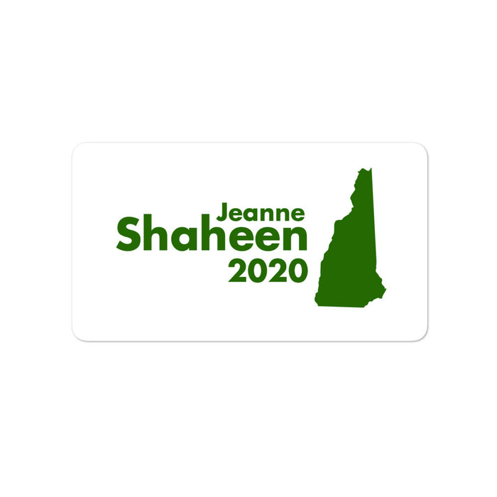 Jeanne Shaheen 2020 for Senate New Hampshire sticker