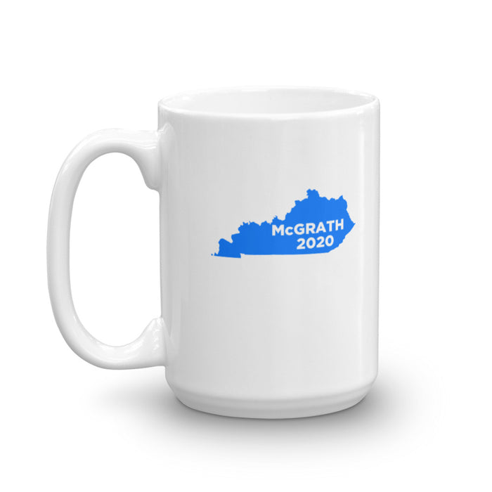 Amy McGrath 2020 KY Coffee Cup