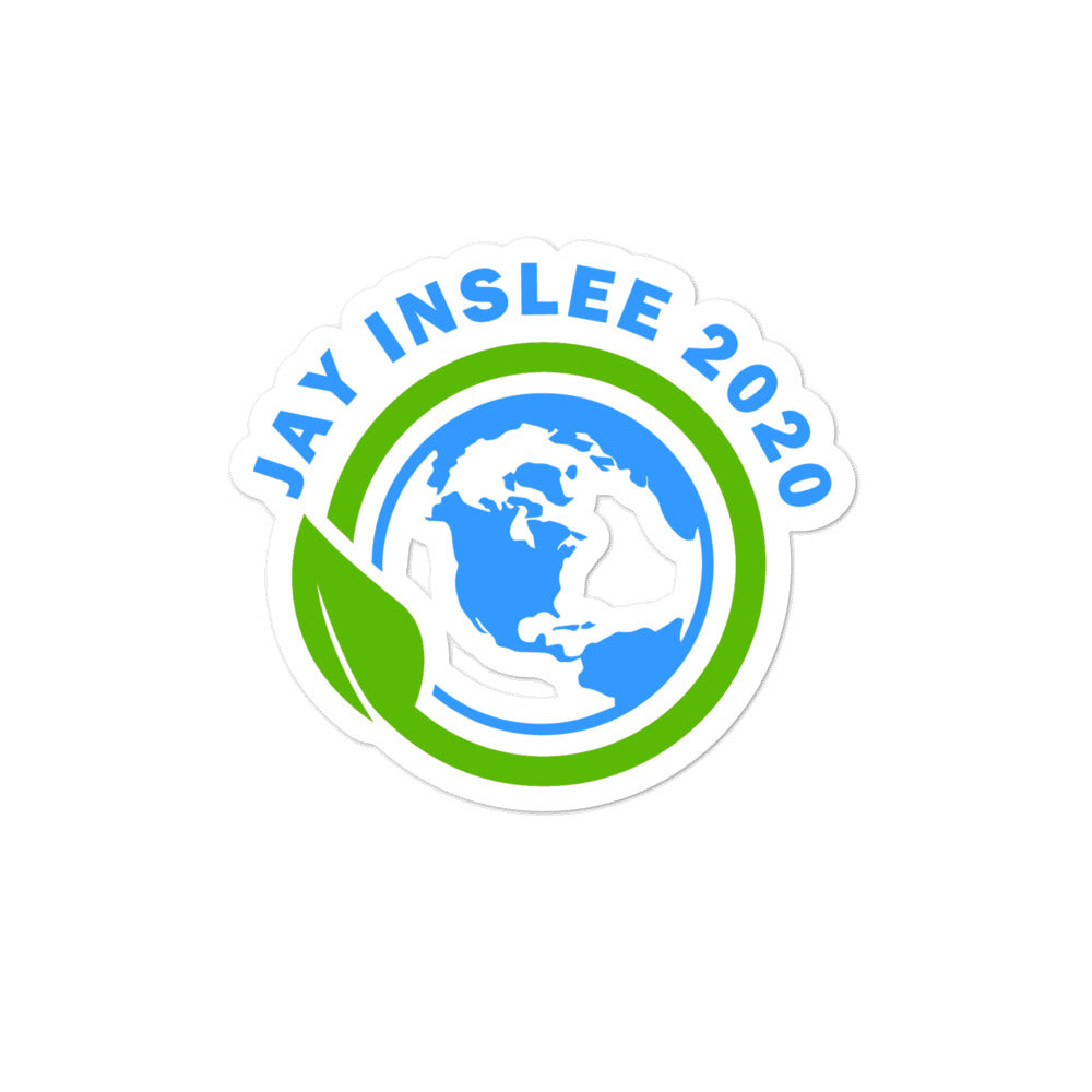 Jay Inslee 2020 for Governor sticker