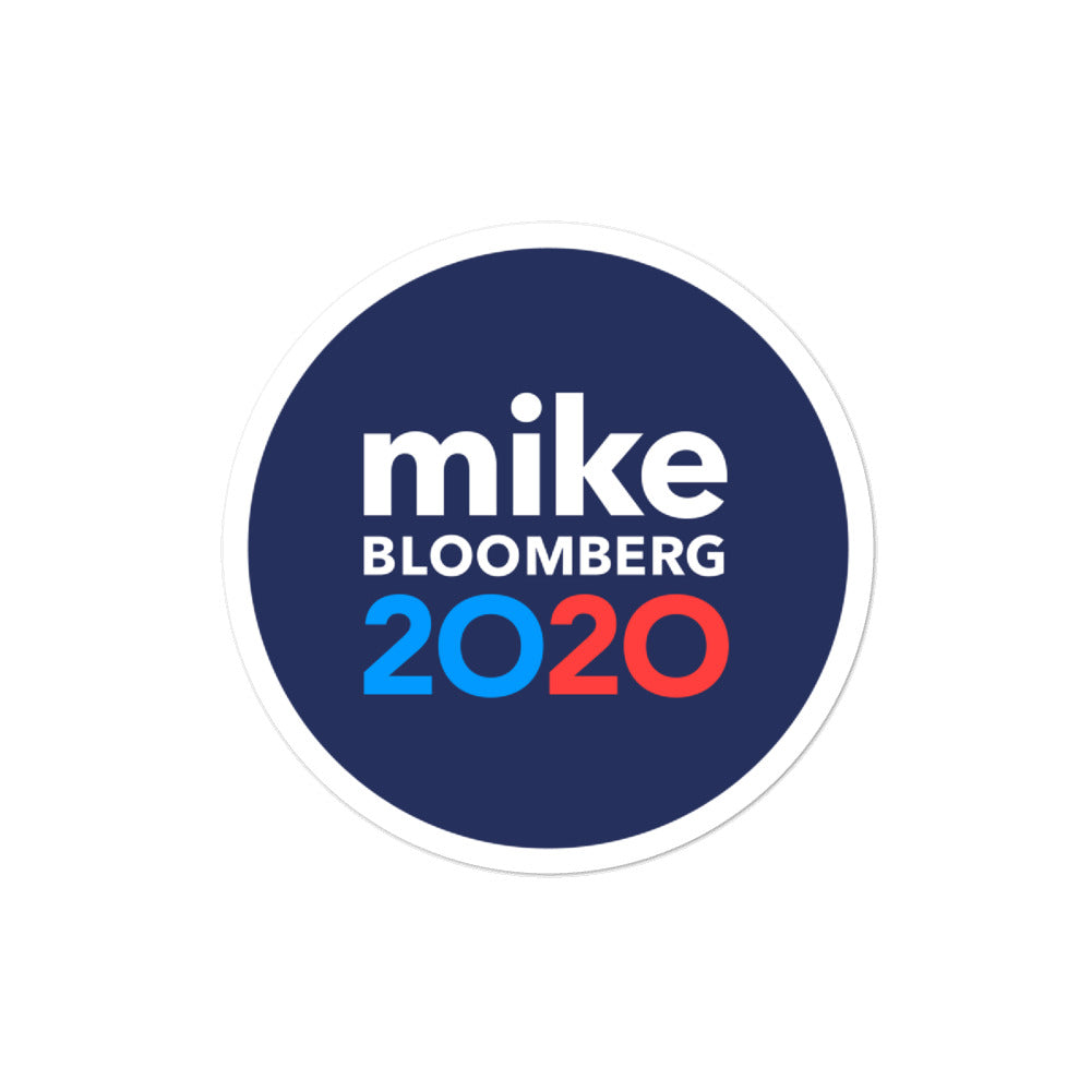 Mike Bloomberg 2020 sticker