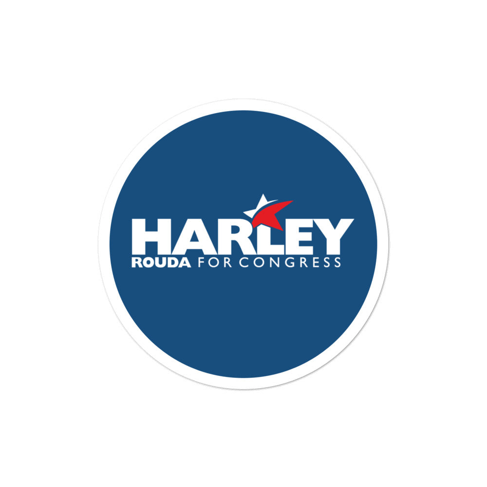 Harley Rouda for CA-48 2020 sticker