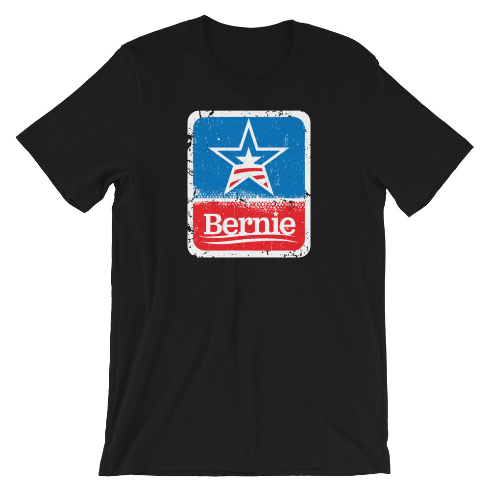 Bernie Sanders 2020 star shirt - black
