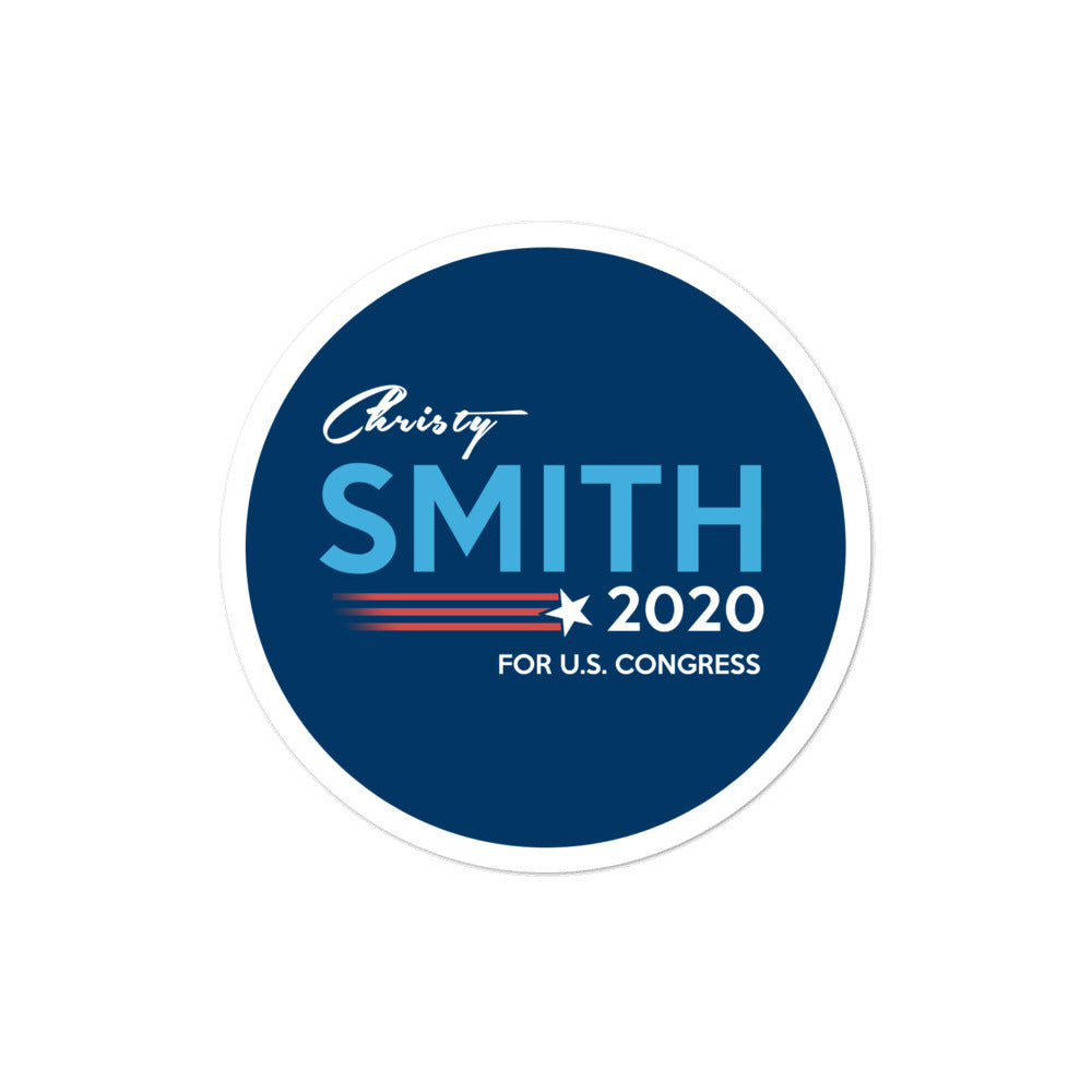Christy Smith CA-25 for California 2020 Sticker