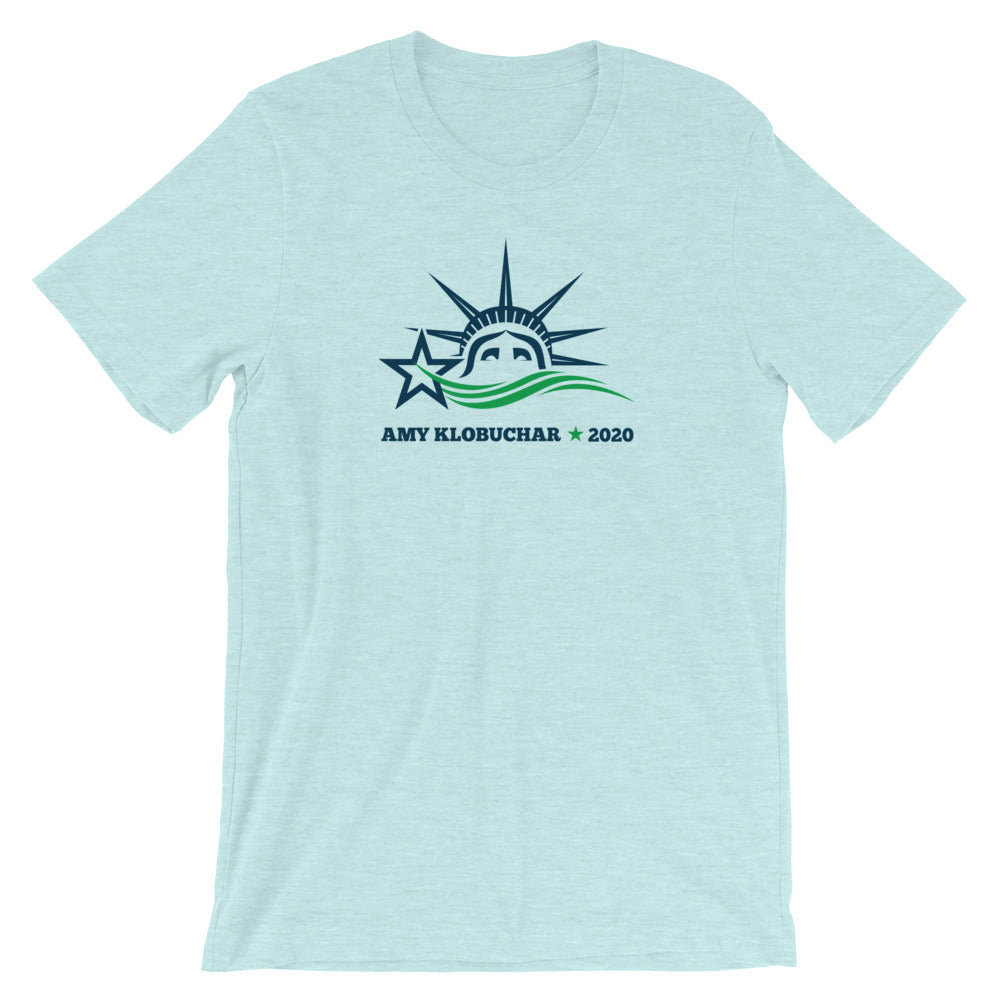 Amy Klobuchar 2020 liberty t-shirt light green