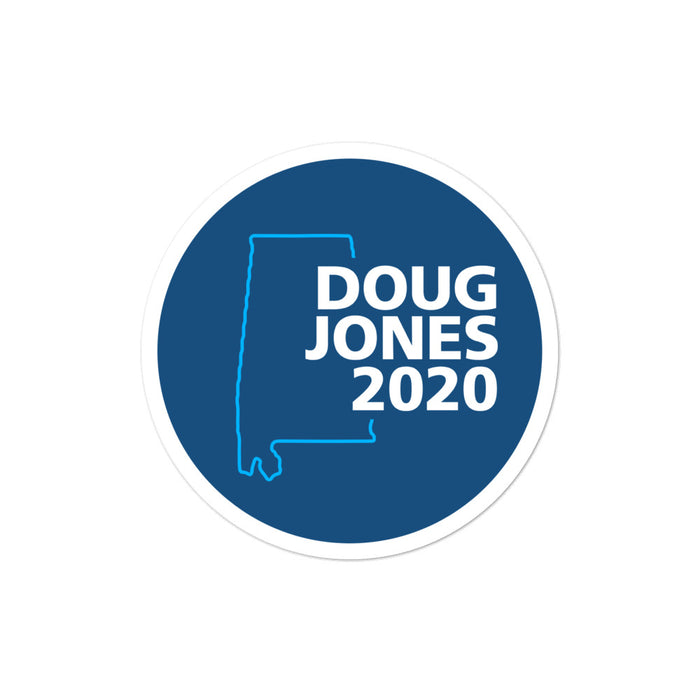 Doug Jones 2020 for Senate Alabama Sticker