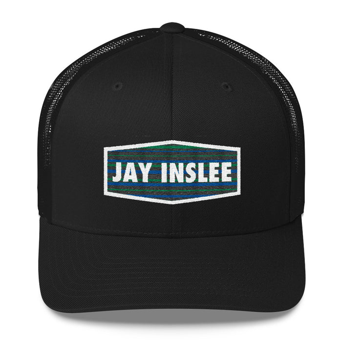 Jay Inslee 2020 trucker hat - black
