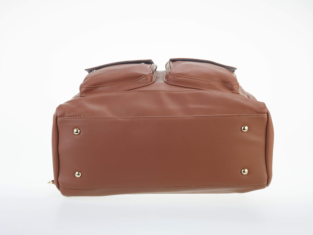 A Cute Diaper Bag - Ella Dane Caramel