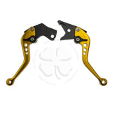 Levers - Brake & Clutch Suzuki GSXR 600 92-93, 750 89-95 - CNC Shorty