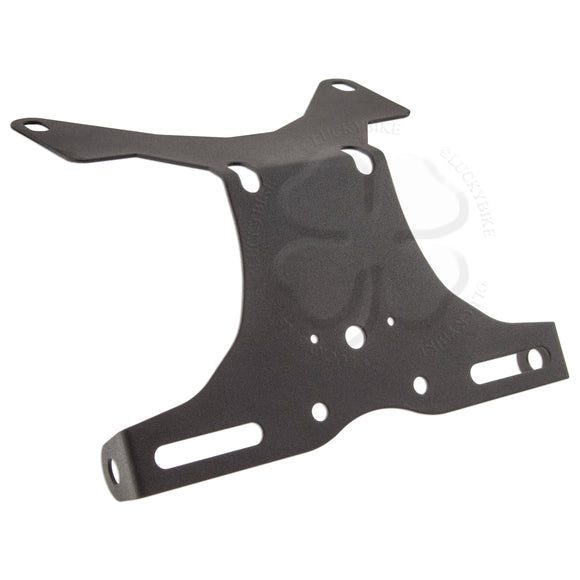 License Plate Bracket - Suzuki - Fender Eliminator - 97-02 GSXR 600/750, 03-04 GSXR1000 - Black