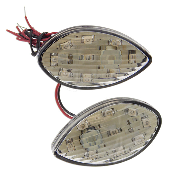 Lighting - Signals Flush - Honda - CBR 600RR 1000RR - Clear