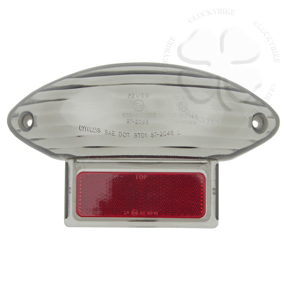 Taillight - Integrated LED - 99-07 GSXR 1300 Hayabusa GSX Katana - Lens Smoke