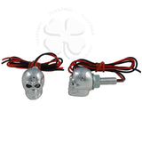 Lighting - LED Bolt - Skull Chrome