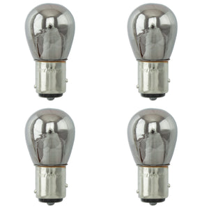 Bulb - 1157 BAY15D 21w 5w - Large Globe Chrome