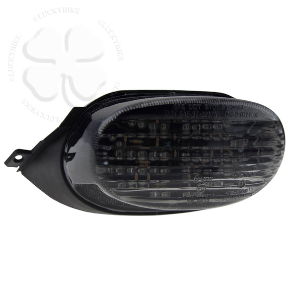 Taillight - Integrated LED - Suzuki GSXR 96-00 600 750 - DOT Smoke