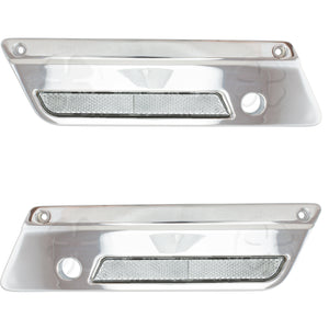 Saddlebag Latch Covers - Harley Davidson 93-13