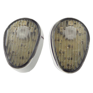 Lighting - Signals - Yamaha - LED - YZF R3, R6, R6s, R1, FZ, MT, FJ, XSR, XP, TMAX - Flush Clear