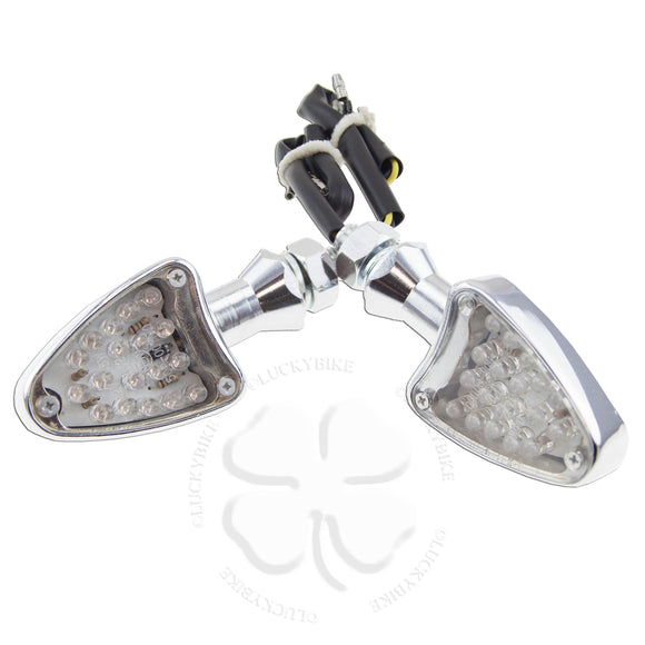 Lighting - Signals - Universal Stalk - T1000 -CNC Aluminum Chrome LED
