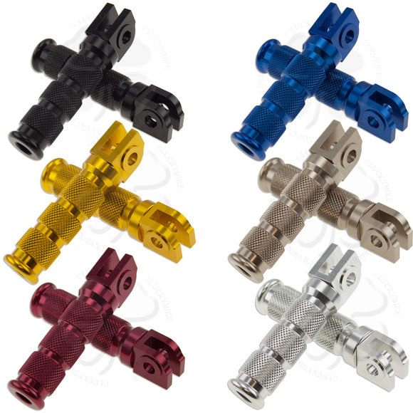 Pegs - Front - Honda 8mm - Round Sport