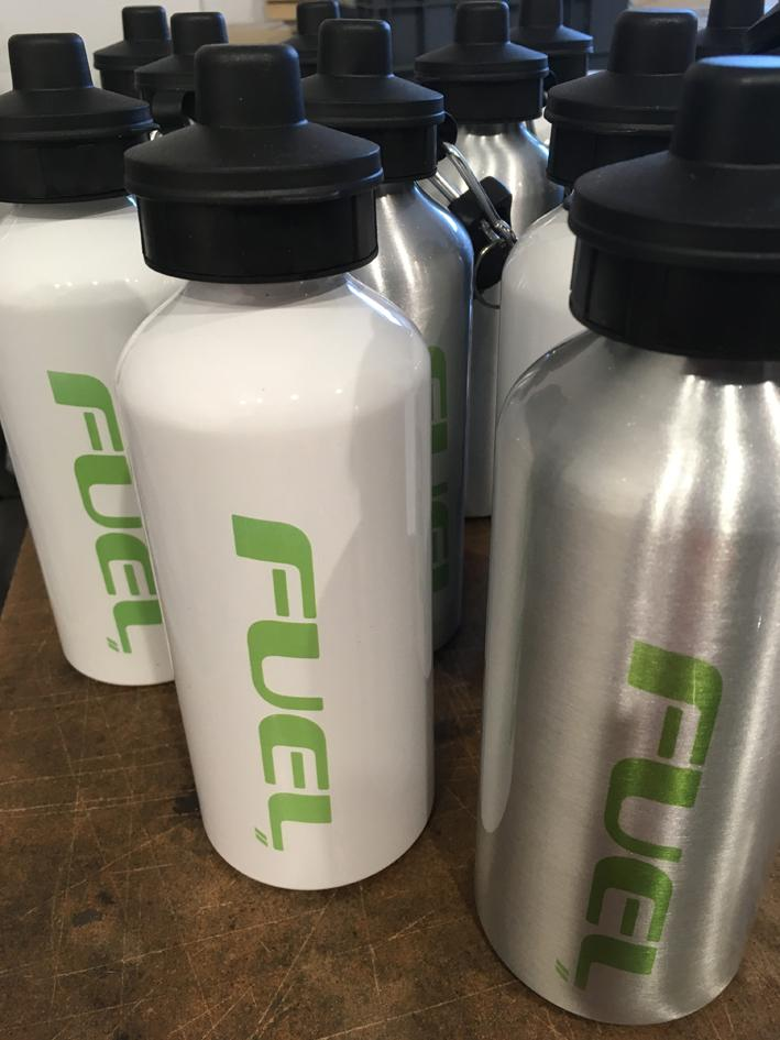 Fuel Steel Water Bottle