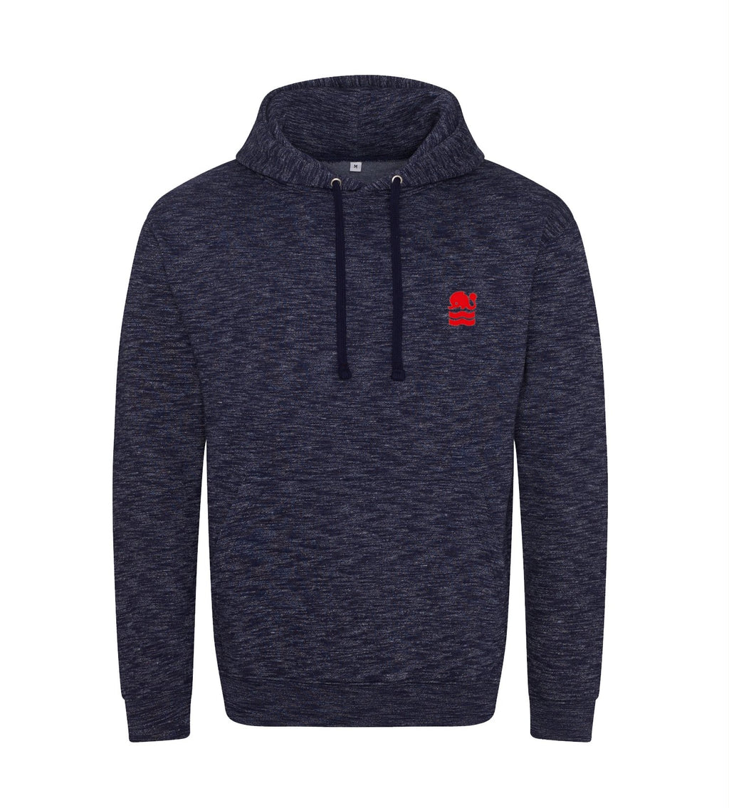 BHHC Melange Hooded Top