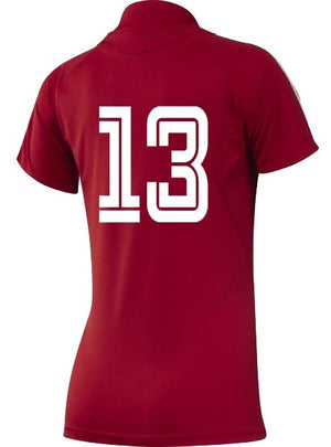 MSHC Ladies Junior Home Red Shirt