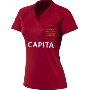 MSHC Ladies Home Red Shirt