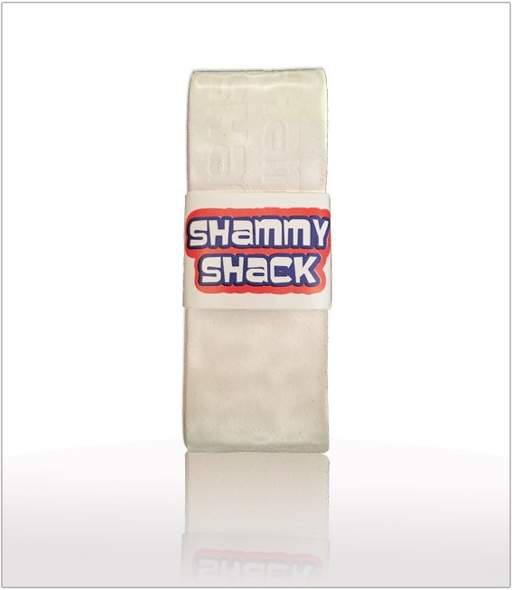 White Shammy Shack PU Replacement Grip
