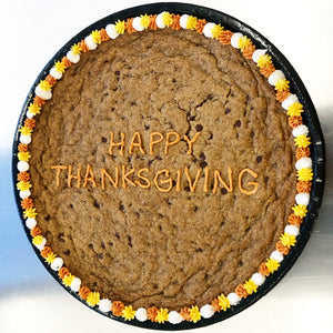 Happy Thanksgiving Cookie Cake