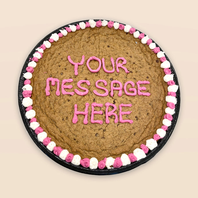 customize your cookie cake (pick-up only)