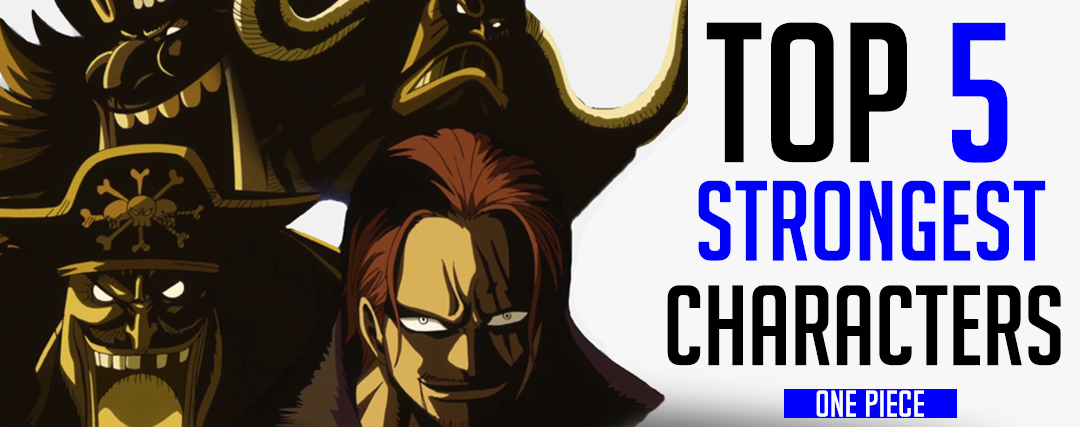 Top 5 Strongest One Piece Characters | Luffy Shop